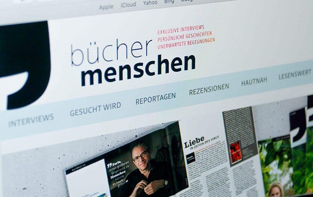 büchermenschen, Website